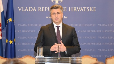Croatian PM Plenkovic breaks up coalition with junior partner Most